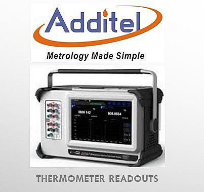 Additel 286 Thermometer Readout